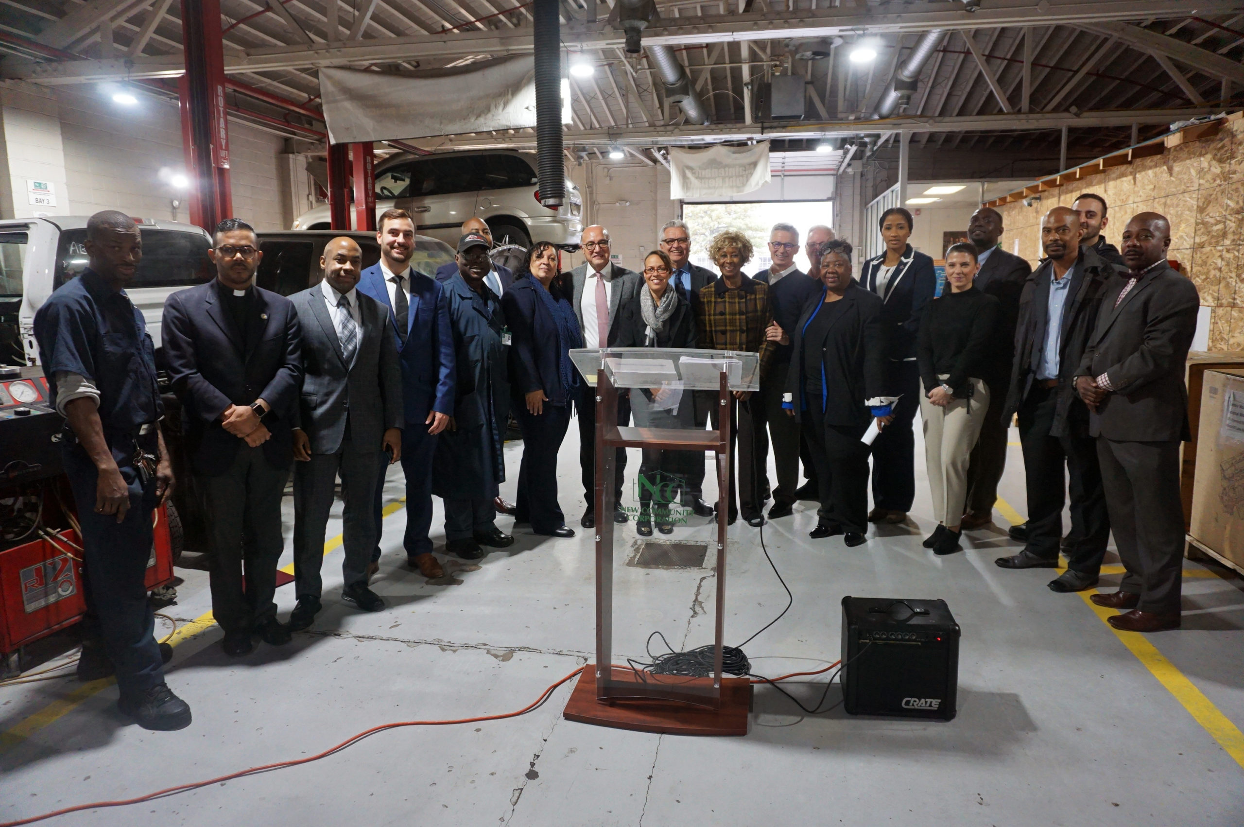 NCCTI Hosts Press Conference for Gov. McGreevey and NJ Reentry Corporation