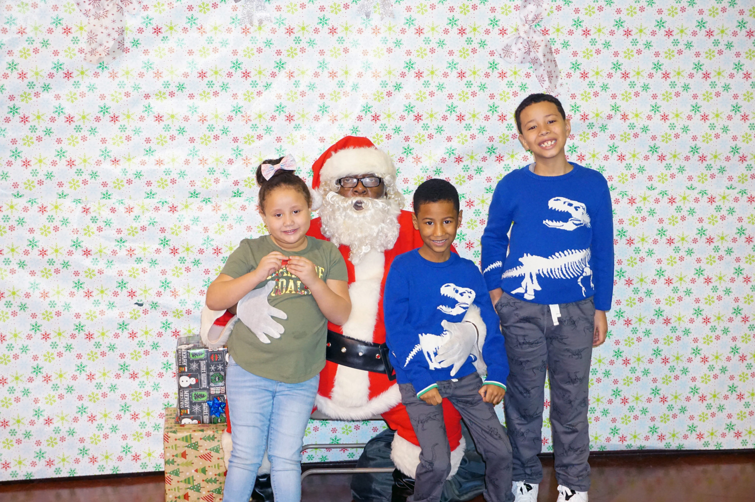 Families Come Out for NCC's Annual Breakfast with Santa