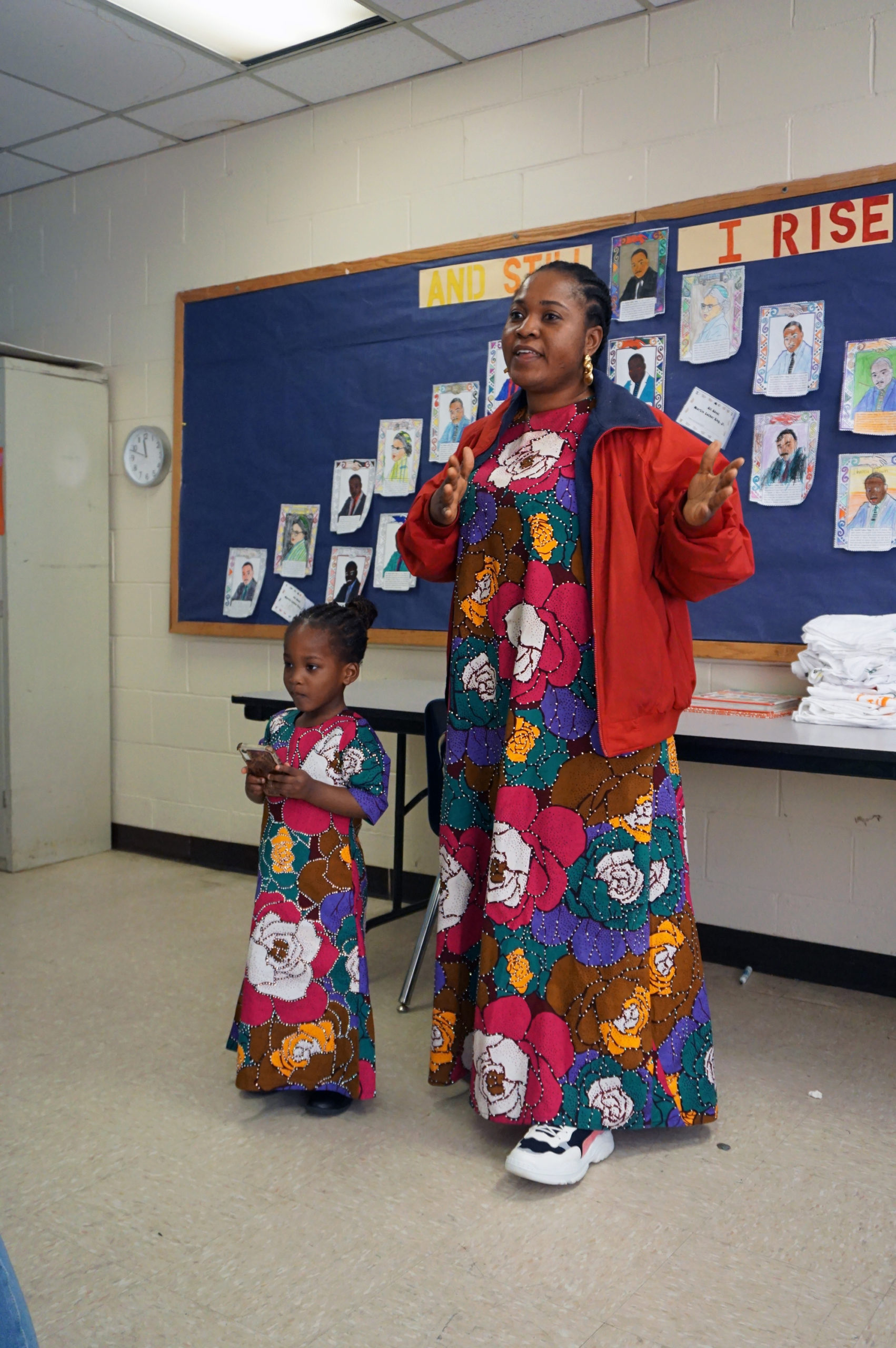 HHELC Cultural Diversity Day 2020 Matching Mother and Daughter