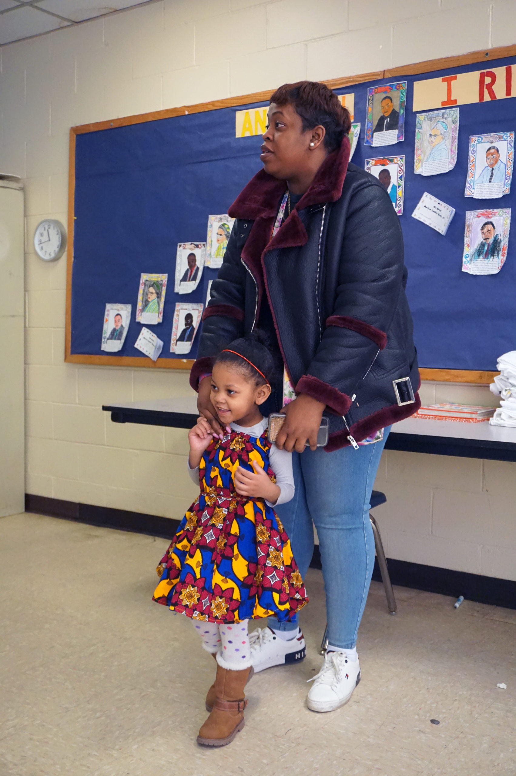 HHELC Cultural Diversity Day 2020 Mother and Daughter in Dress
