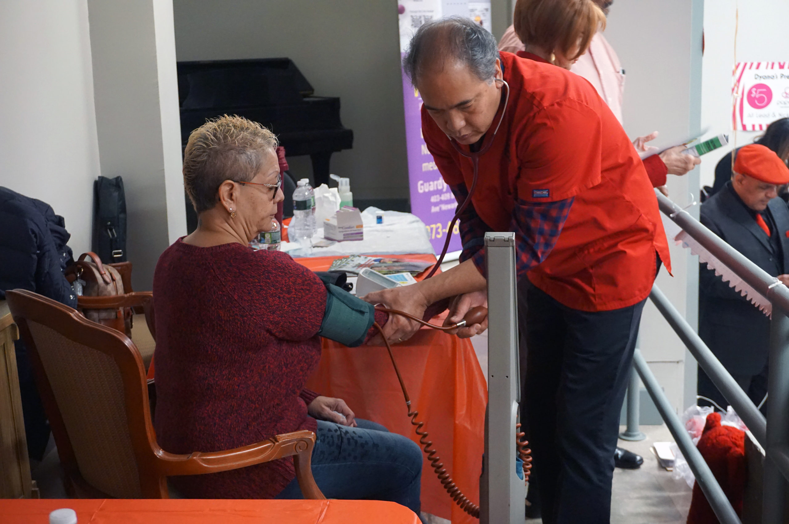 Wear Red Day 2020 Blood Pressure Test
