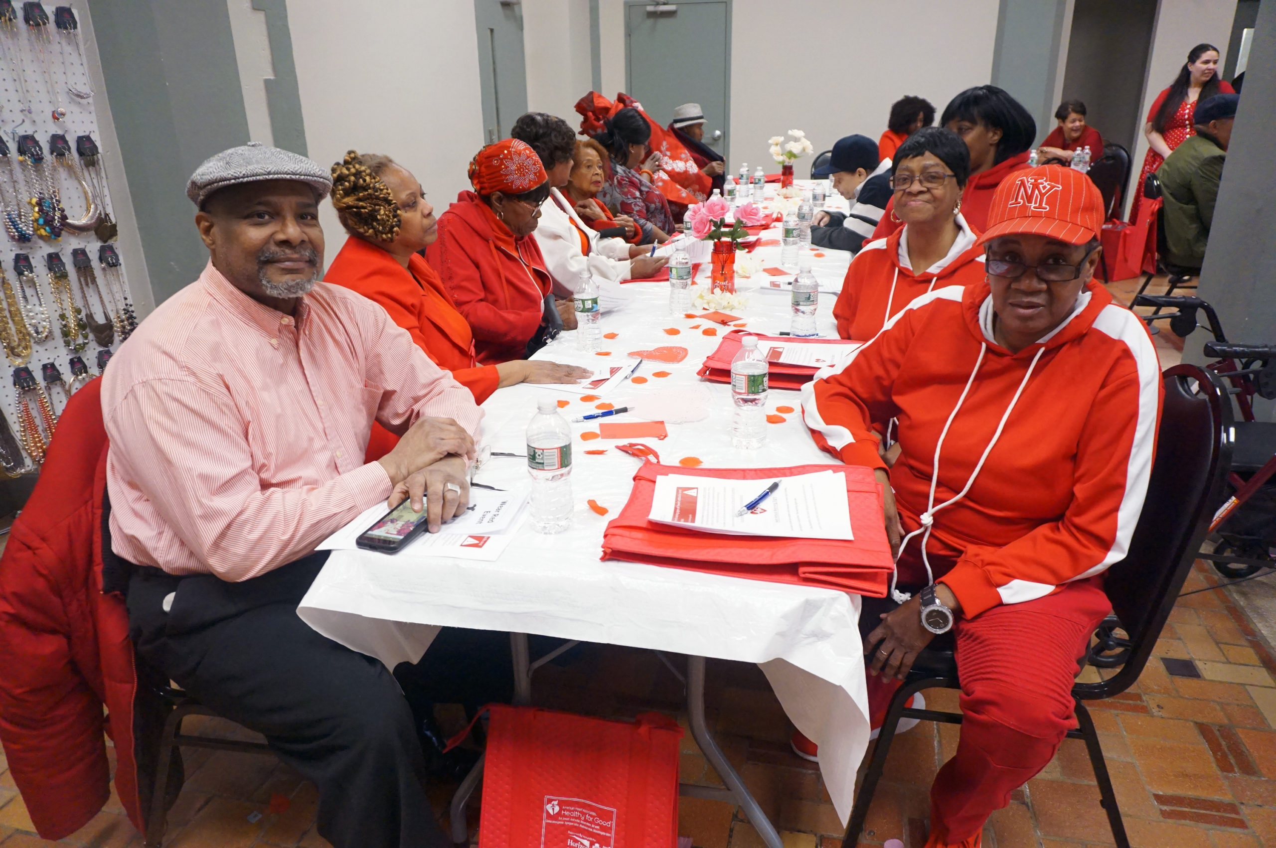 Wear Red Day 2020 Long Table
