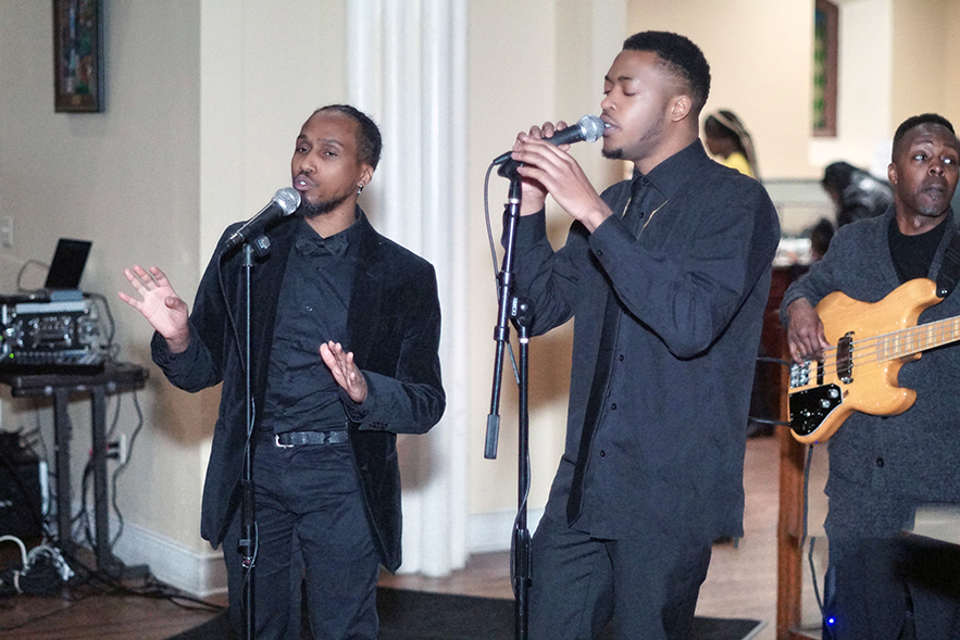 Women's History Celebration Male Duo Singing for Website