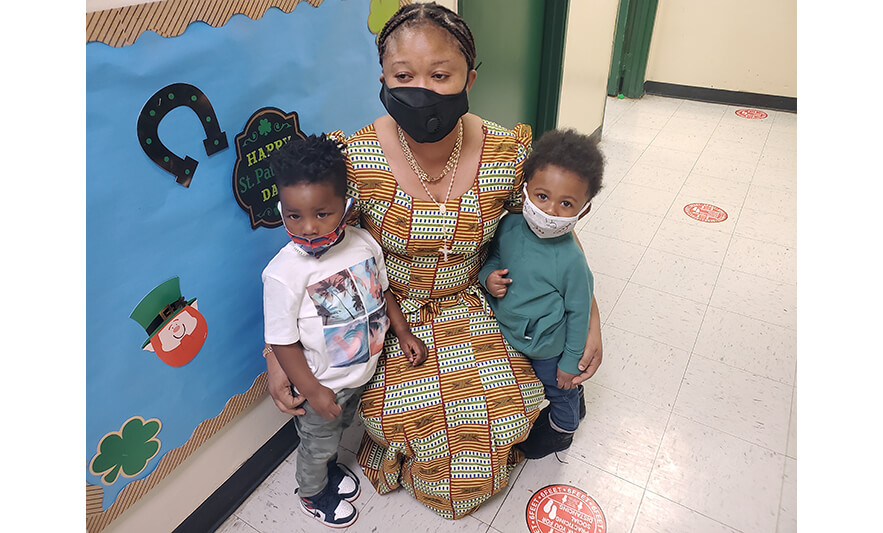 HHELC Black History Month 2021 Woman with 2 Kids for Web