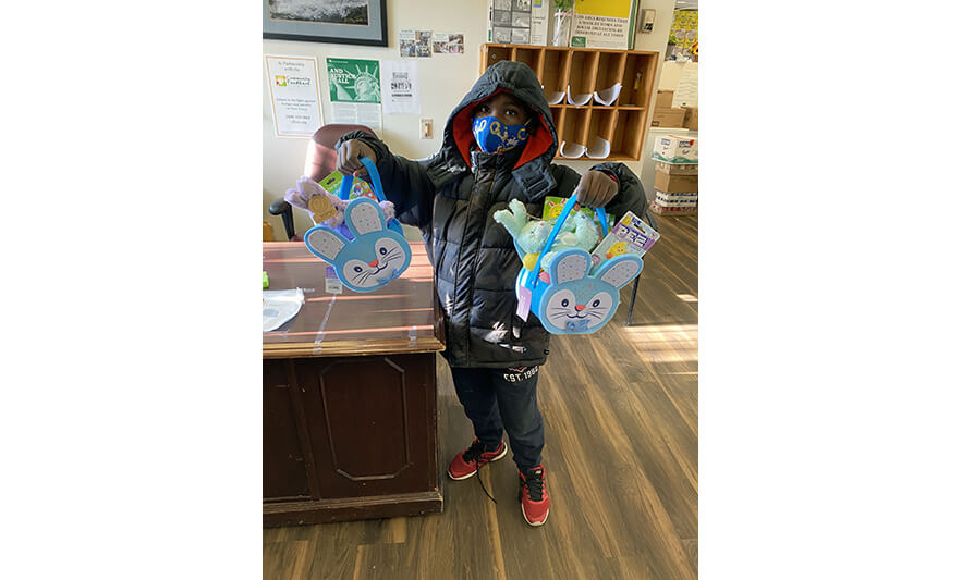 Families Easter Baskets 2021 Boy with 2 Baskets for Web