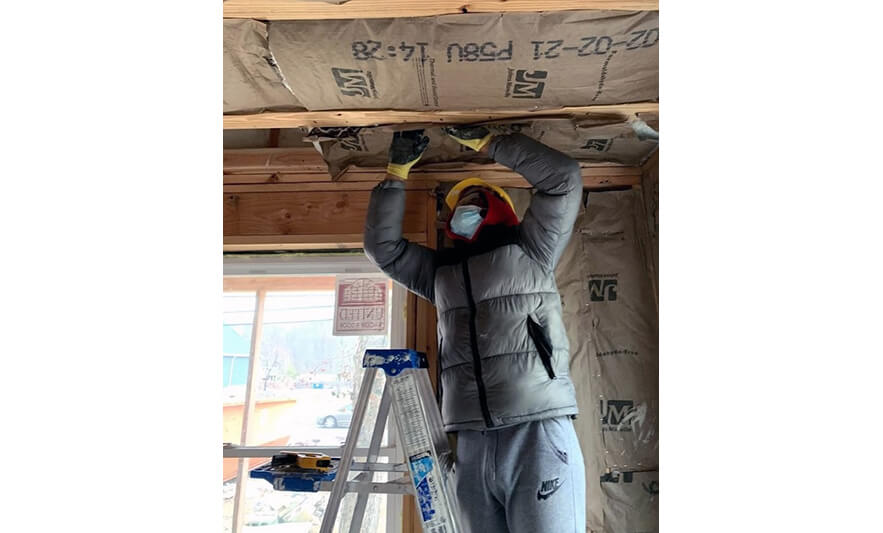 NCCTI Partnership with Habitat of Greater Newark Gives Building Trades Students Real World Experience