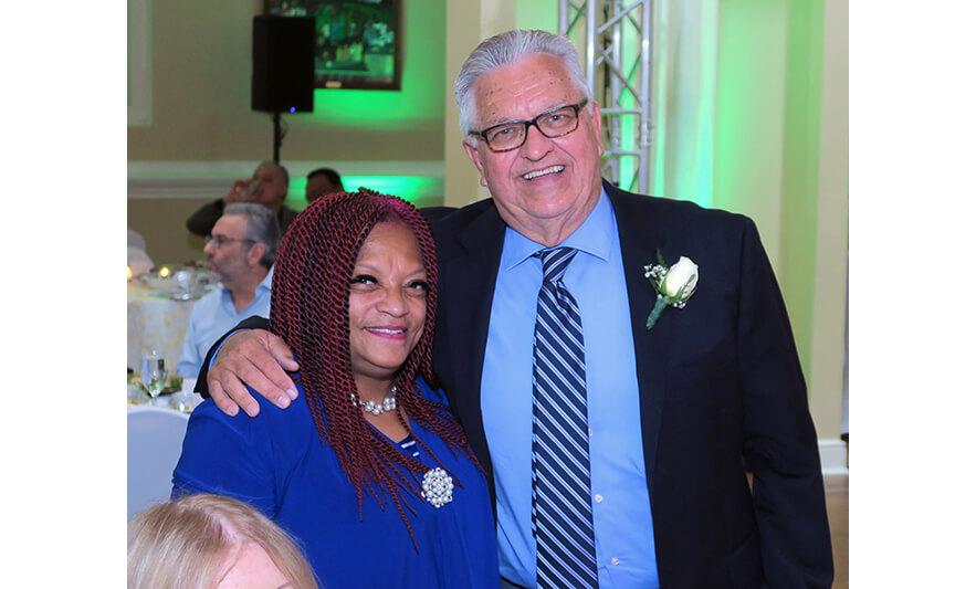 Richard Rohrman Retirement Celebration 5-20-2021 Rev. Louise Scott-Rountree and Richard Rohrman for Web