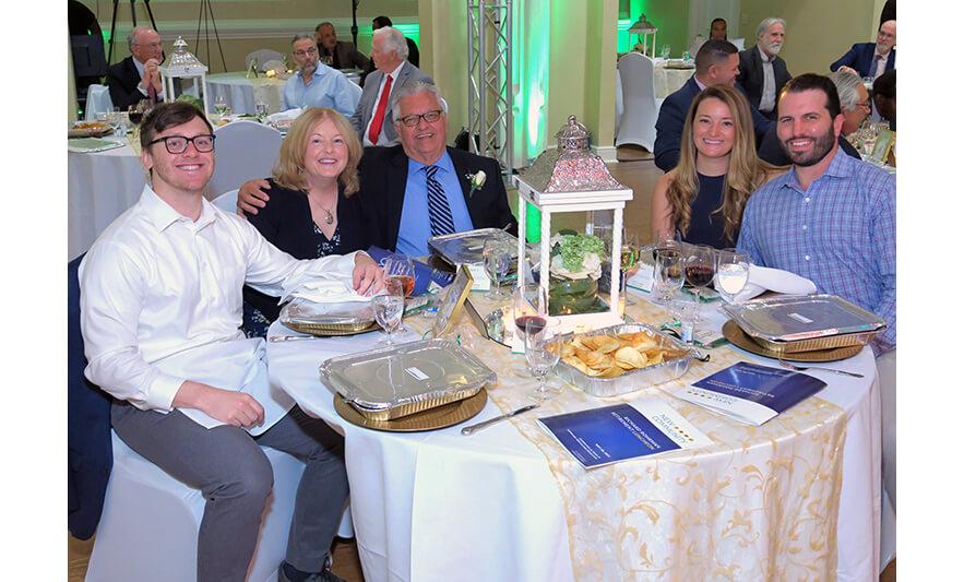 Richard Rohrman Retirement Celebration 5-20-2021 Rich's Table Smiling for Web