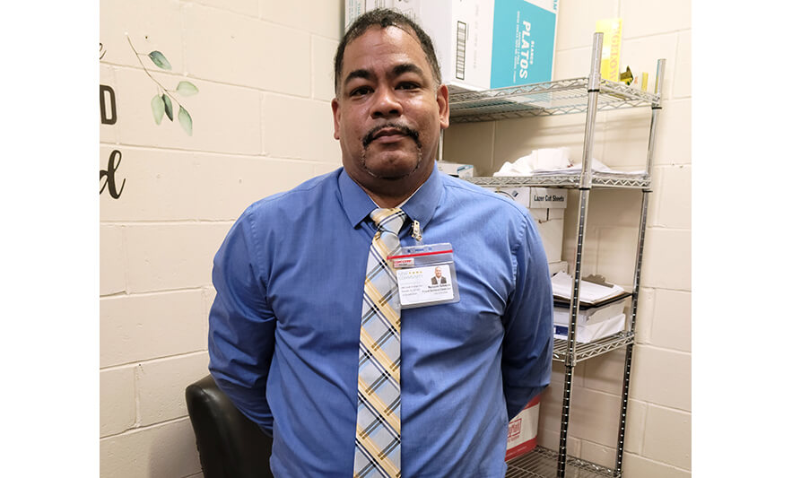 New Food Service Director Brings Wealth of Experience to New Community